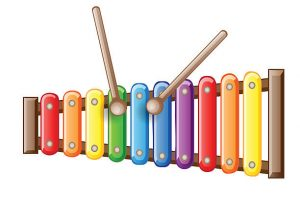 300x200 Xylophone Clipart Group
