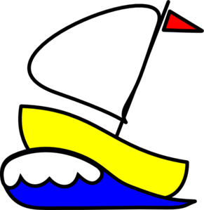 291x299 Number 4 Sailboat Clip Art