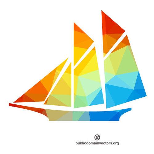 500x500 Sailboat Silhouette Clip Art Public Domain Vectors