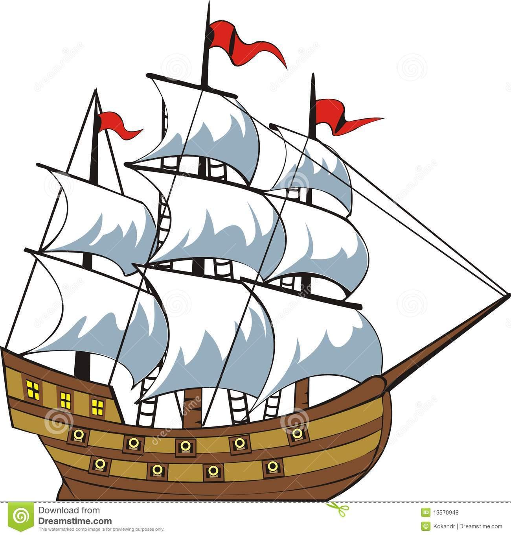 1300x1365 Sailing Ship Clipart