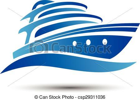 450x322 Yacht Boat Symbol Vector.illustration.