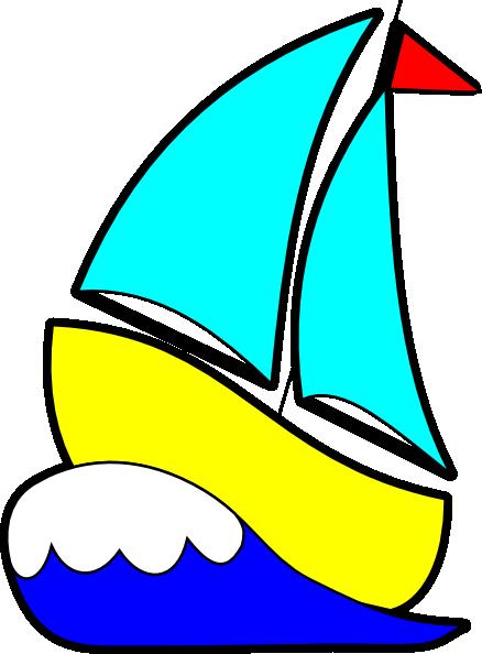 438x594 Bigger Sailboat Clip Art