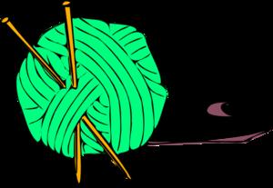 300x207 Mint Green Yarn Clip Art