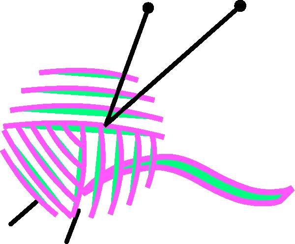 600x496 Yarn Clip Art