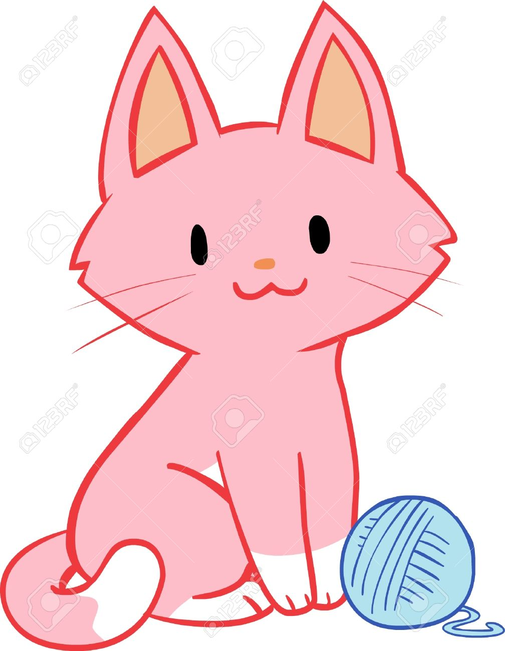 1008x1300 Download Clip Art Cat With Yarn Yanhe Clip Art