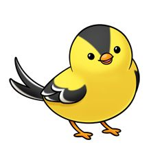 Yellow Bird Clipart