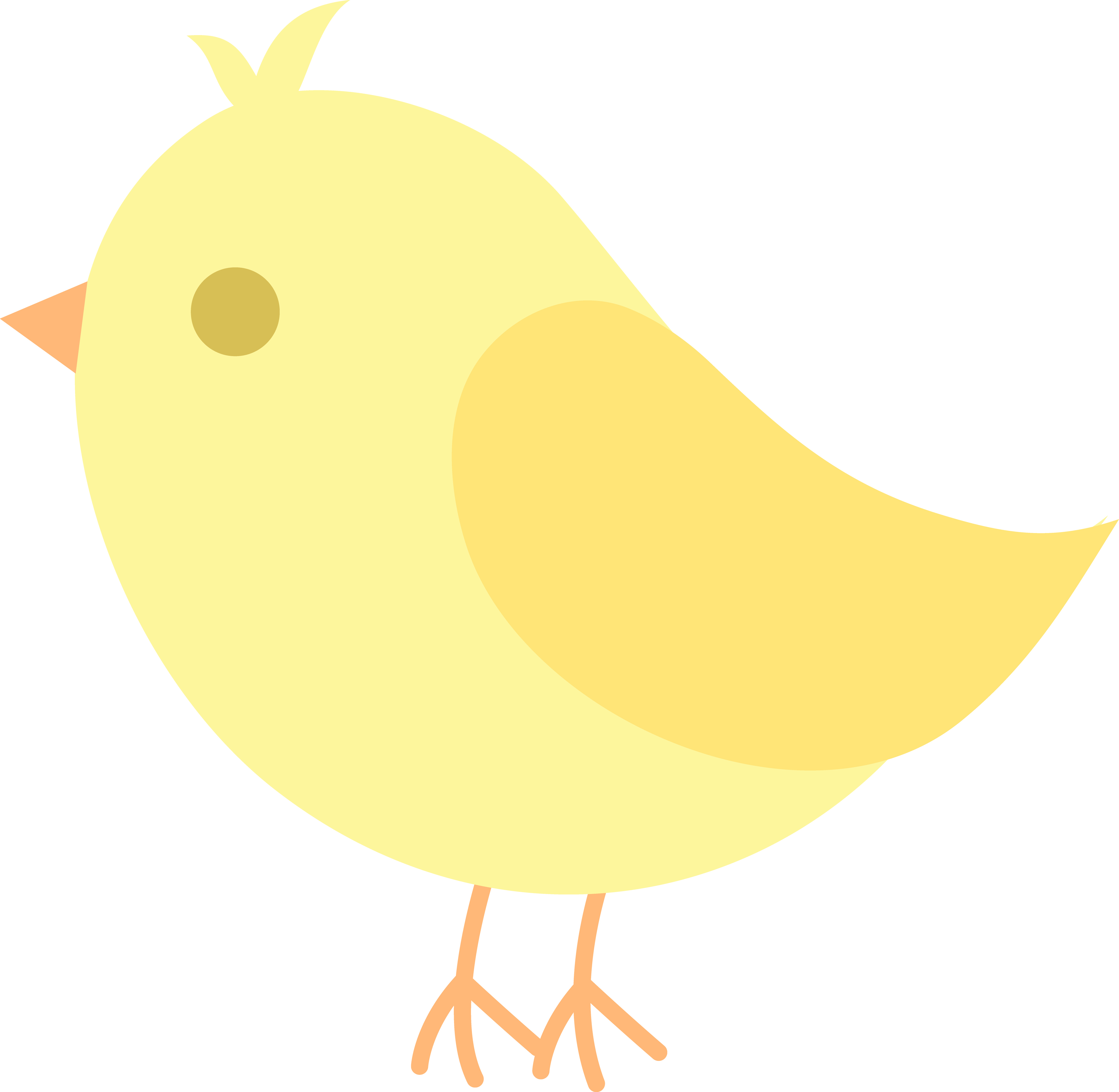 Yellow Bird Clipart at GetDrawings.com | Free for personal use ...
