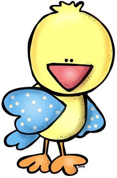 236x359 Yellow Bird With Blue Wings Clip Art Blue Wings