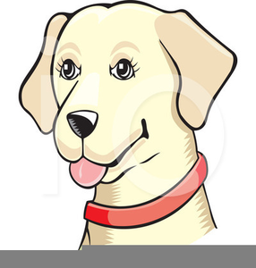 286x300 Yellow Lab Cartoon Clipart Free Images