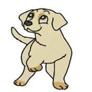 319x319 Yellow Labrador Clipart