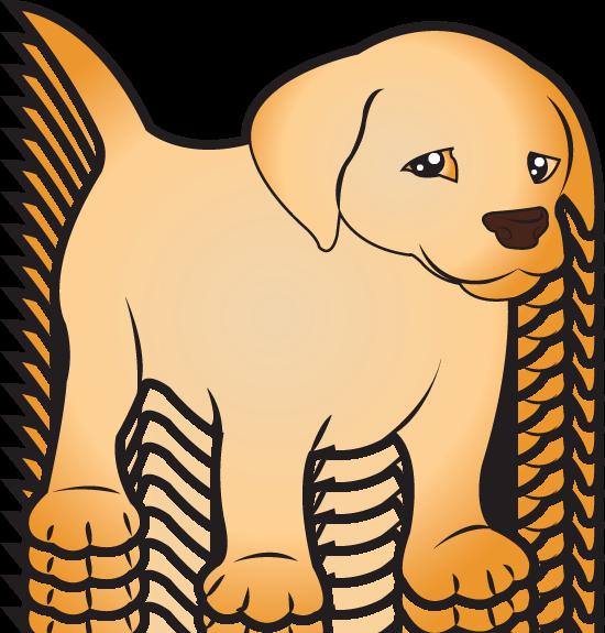 550x575 Clip Art Of Animals Puppy Labrador ( Full Color) Equine