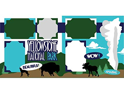 425x319 Yellowstone Scrapbook Kit