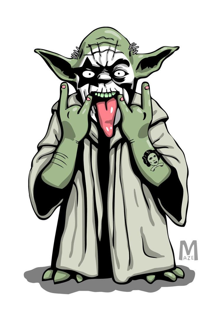 748x1067 Yoda Rockstar By B Maze
