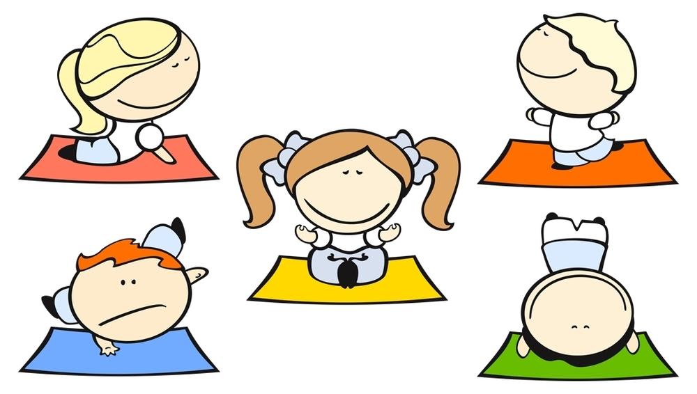 1000x566 Kids Yoga Clip Art