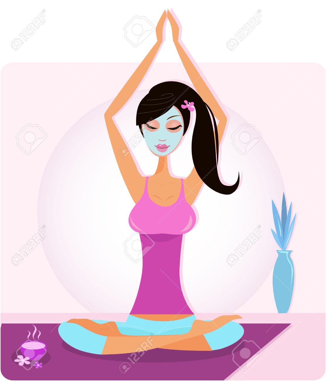 1115x1300 Meditation Clipart Yoga Asana3705177