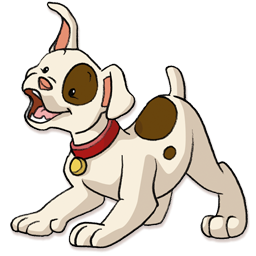 256x256 Clipart Puppy Amp Look At Puppy Clip Art Images