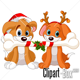 324x324 Collection Of Dog Christmas Clipart High Quality, Free
