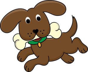 300x245 Puppy Clipart Image Clip Art A Running