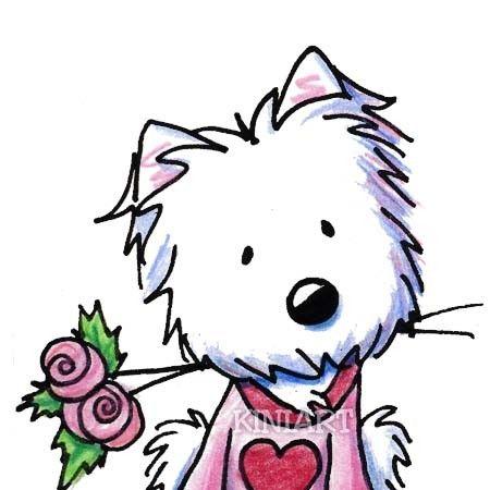 450x450 West Highland White Terrier Clipart