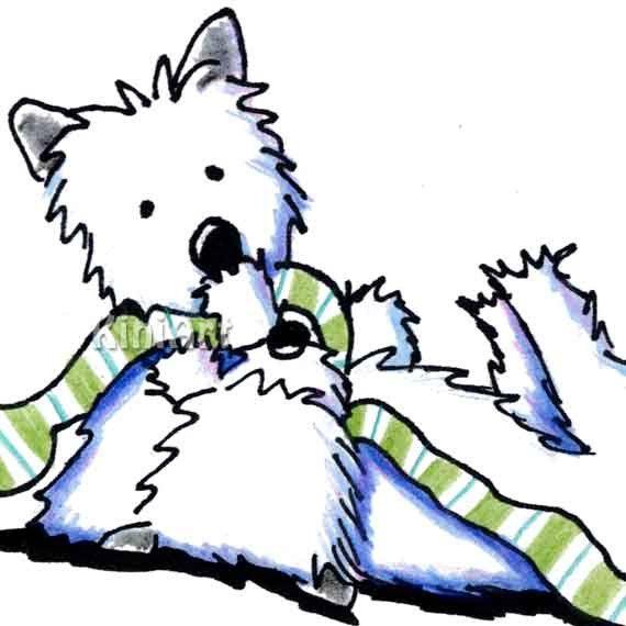 Yorkie Puppy Clipart