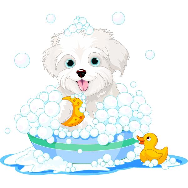 600x600 Bubble Bath Puppy Bubble Baths, Cricut And Stamps