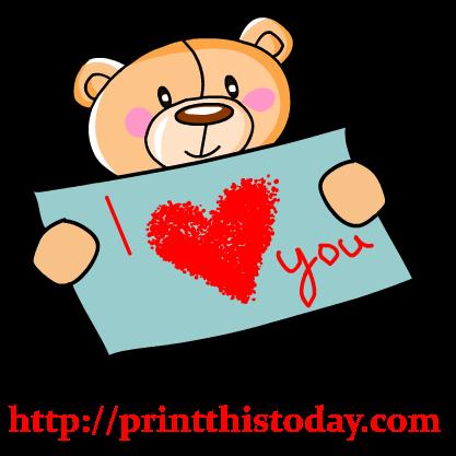 417x417 Clipart I Love You I Love You Clipart Clipart Panda Free Clipart