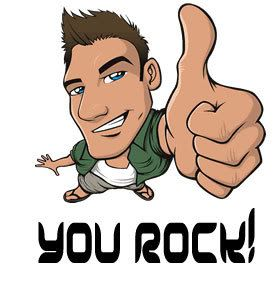 You Rock Clipart
