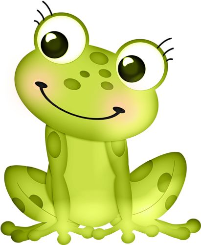 411x500 162 Best Frog Clip Art Images On Frogs, Animales