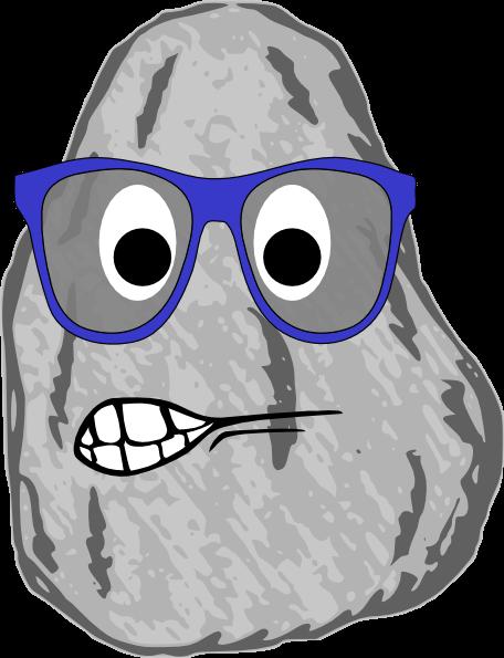 456x595 Cartoon Rock Cliparts