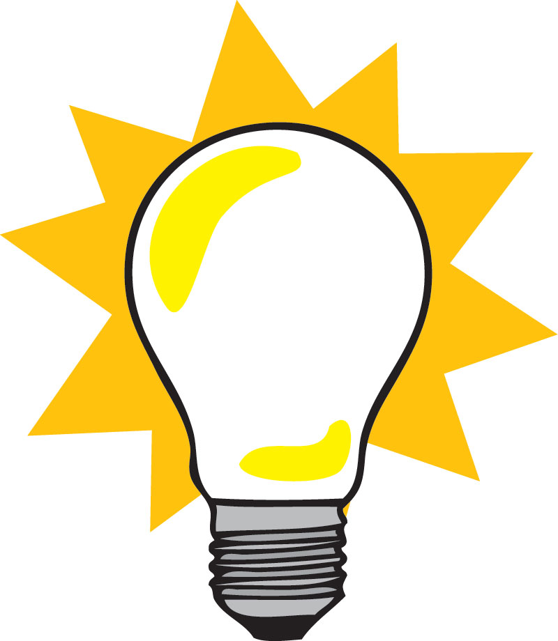 800x920 Light Bulb Images Free Download Clip Art On Regarding Prepare