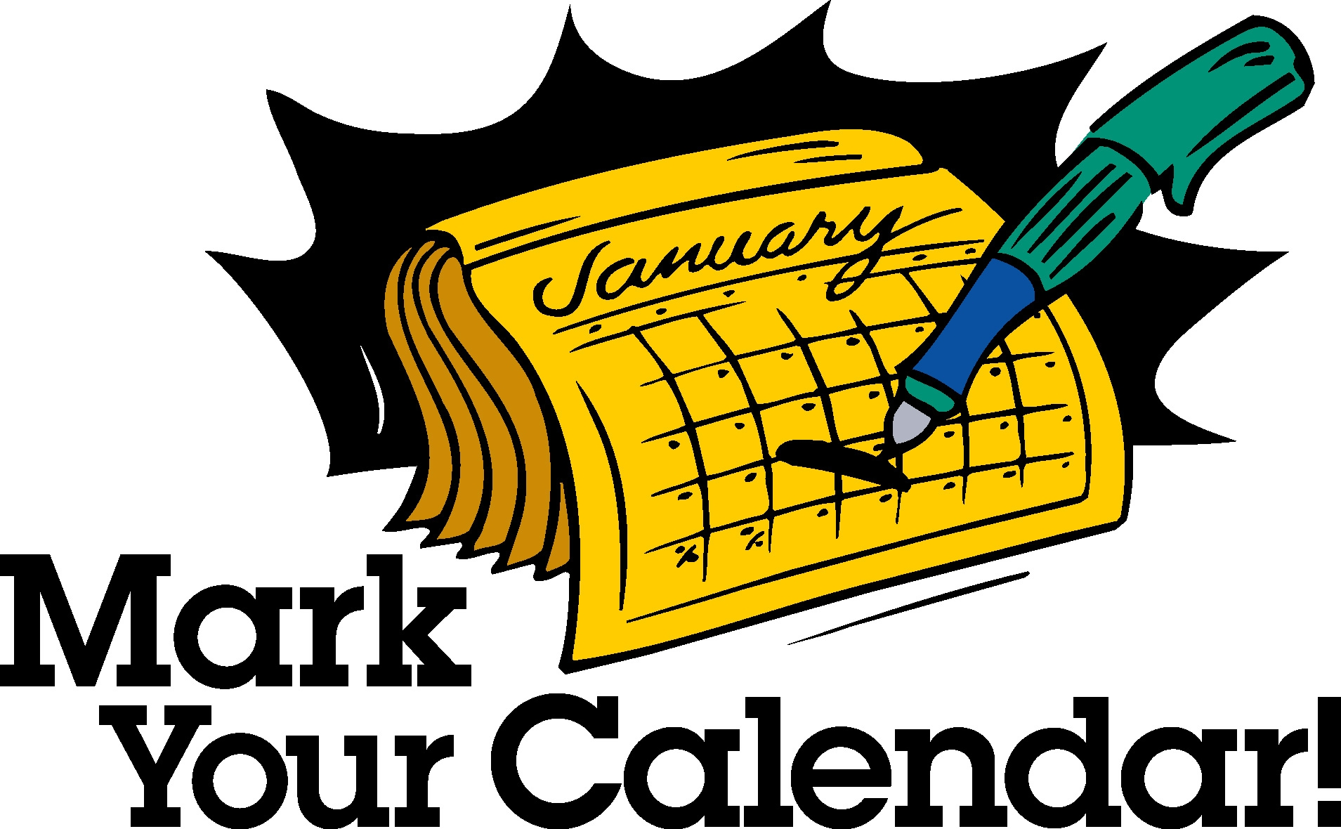 1909x1180 Awesome Mark Your Calendar Clipart Design