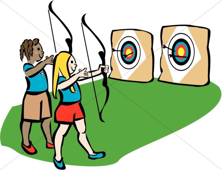 776x593 Archery Clipart Youth Camp Archery Christian Youth Summer Camp
