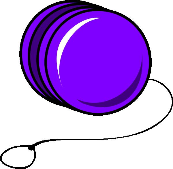 600x586 Purple Cartoon Yoyo Clip Art Clipart Panda