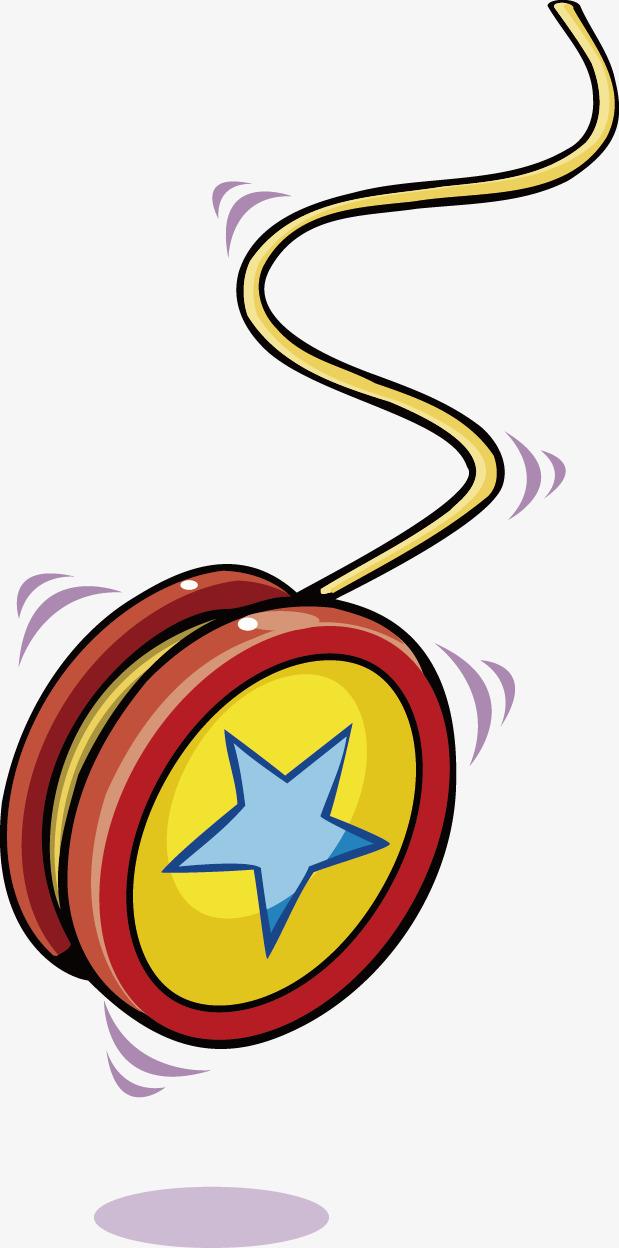 619x1248 Vector Cartoon Yo Yo, Hand Painted Yo Yo, Yo Yo, Red Yo Yo Png