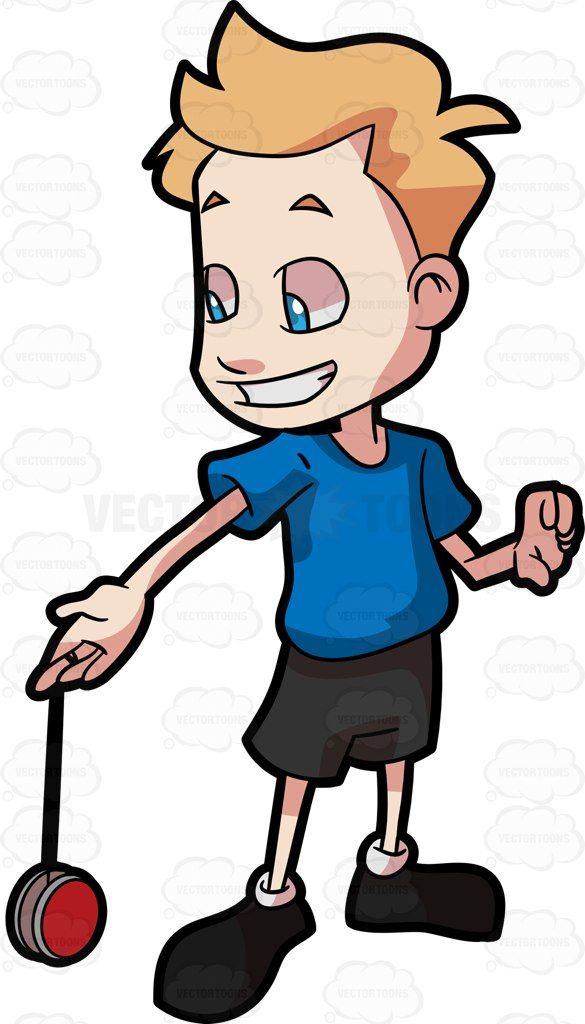 585x1024 A Boy Playing A Yo Yo Yo Yo
