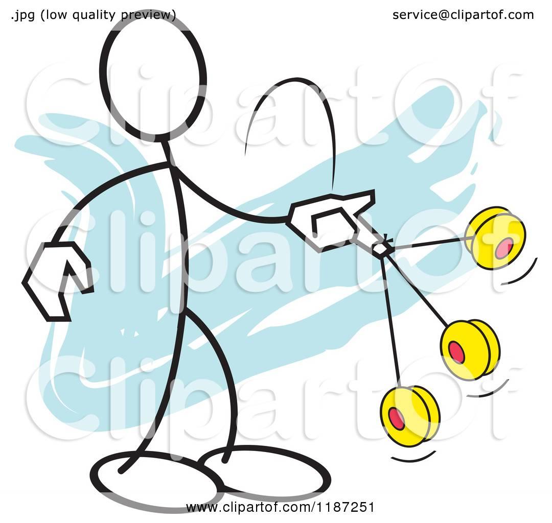 1080x1024 Cartoon Of A Stickler Man Yo Yo Ace