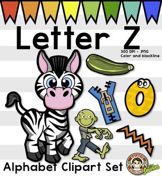 321x350 Alphabet Clip Art Letter Z Phonics Clipart Set