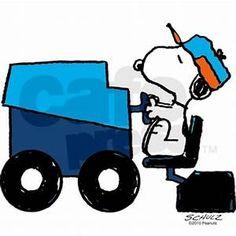 236x236 Woodstock, Zamboni Driver Hockey Snoopy, Hockey