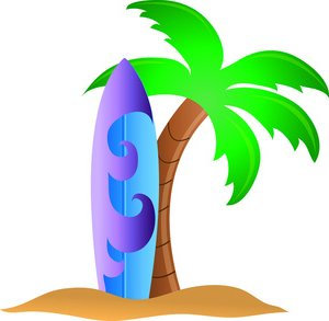300x293 Surf Board Clip Art Many Interesting Cliparts