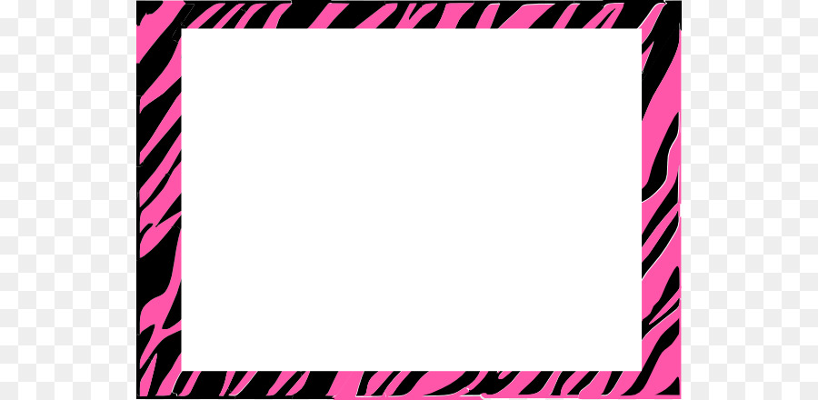 900x440 Paper Zebra Animal Print Clip Art