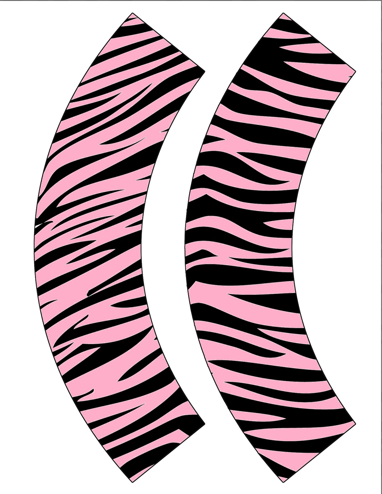 1239x1600 Pink Zebra Print Background