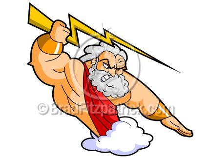 432x324 Beautiful Zeus Cartoon Images