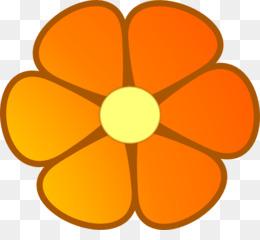 260x240 Flower Orange Blossom Clip Art
