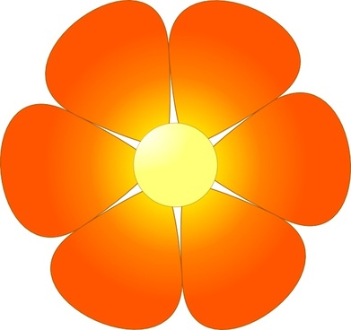 391x368 Flower Clip Art Free Vector Download (215,637 Free Vector)