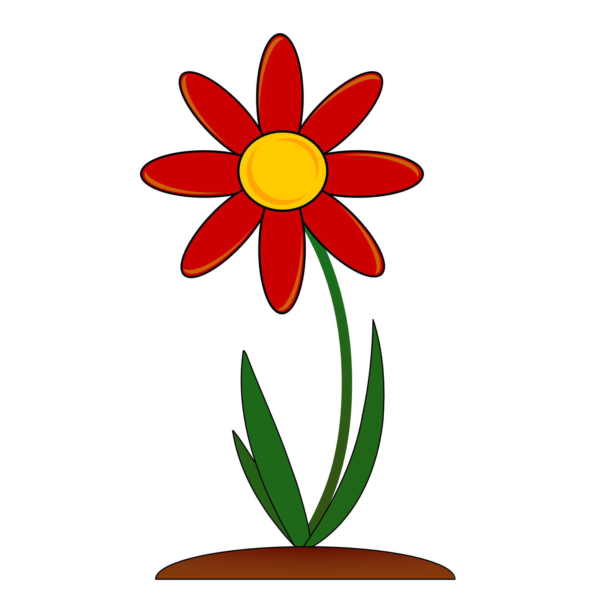 1969x1969 Collection Of Red Flower Clipart High Quality, Free Cliparts