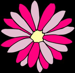 299x294 Pink Flower Clip Art 2977878