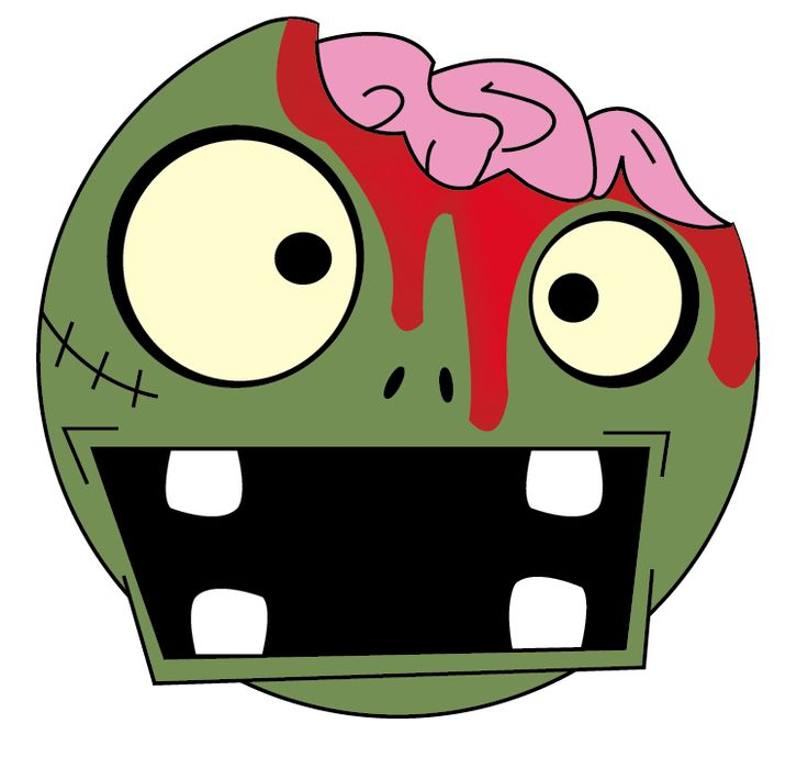 736x689 Apocalyptic Clipart Zombie Face