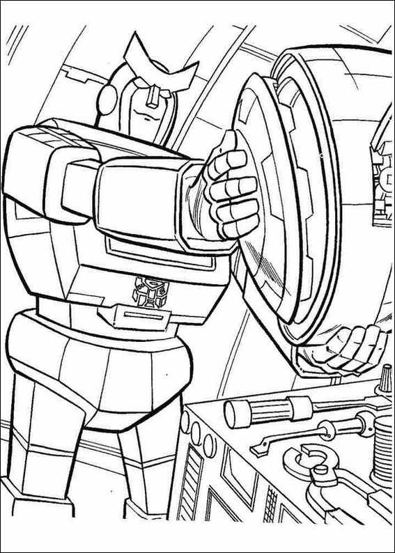 567x794 Transformers Coloring Page