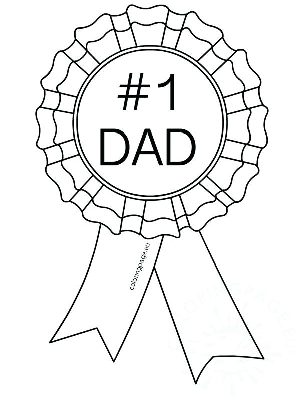 595x793 Number Dad Coloring Pages Fathers Day Coloring Page Greatest Dad