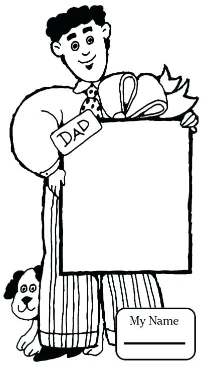 403x733 Coloring Pages For Dad Best Dad Ever Coloring Pages For Coloring